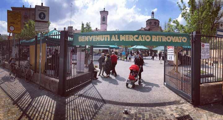 mercato ritrovato bologna