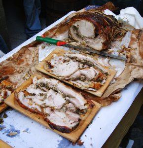 cocina romana porchetta