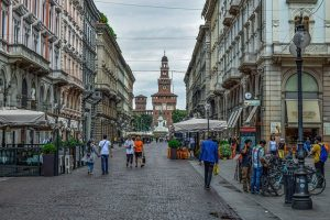 milano walking tour