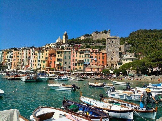 Excursiones a la costa desde el puerto de La Spezia