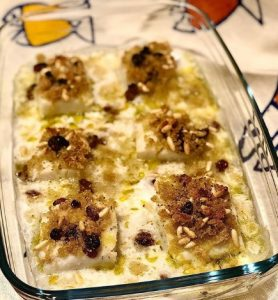 baccalà arracanato recette