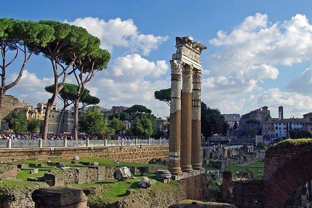 Rome en un jour fori imperiali