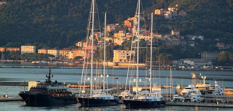 puerto de cruceros de La Spezia