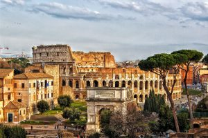 von Neapel nach Rom